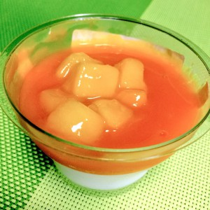 ごろっとマンゴー&とろける杏仁