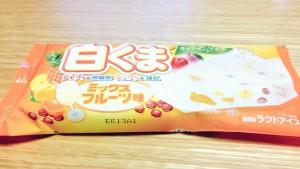 白くまフルーツミックス味