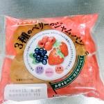 ヤマザキ 三種のベリーのジャムパン