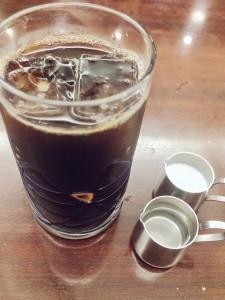箱根湯本 画廊喫茶ユトリロ 水出しアイスコーヒー