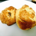 箱根カフェのスコーンと守谷のパン