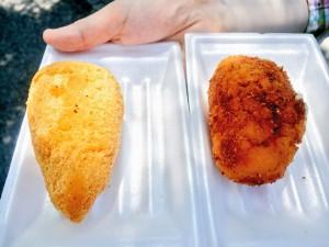 ブラジルフェスタ コシーニャとヒゾーリス(チーズ)