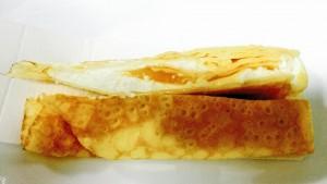 モンテール 手巻きクレープ 瀬戸内オレンジとチーズ