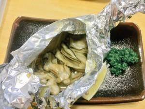 ひろしま鉄ちゃん 牡蠣のホイル焼き