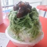 渋谷のSweets茶茶で天然氷のかき氷食べてきた