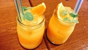ラ・パウザ 柚子はちみつフレッシュオレンジ