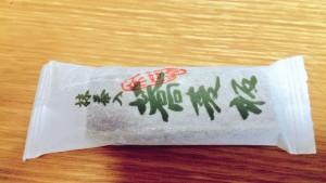 京都土産 蕎麦板抹茶