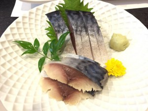 銀八鮨 〆鯖刺