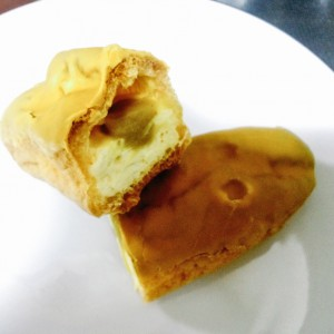 モンテール 焼プリンモンブランのエクレア