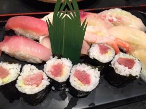 えぼし 地魚寿司盛り合わせ定食