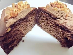 セブン コーヒー香るチョコケーキ