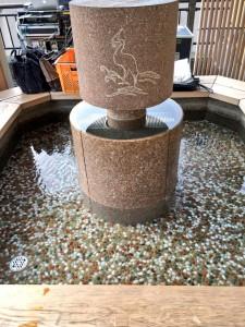 湯涌温泉 白鷺の足湯