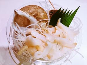 バイ貝刺身