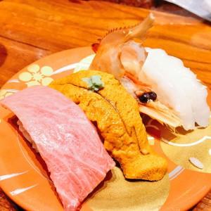 もりもり寿司 もりもり三点盛り