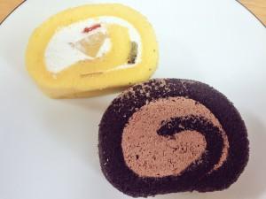 プレシア至福のロールケーキ チョコ&フルーツ