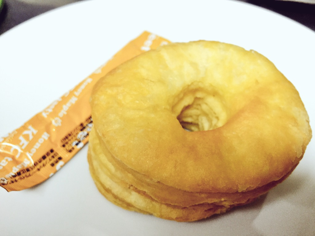 ケンタッキーのフライドサーモンとパンプキンビスケット食べてみた