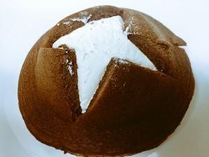 ファミマ 切れてるパンケーキ チョコ&ホイップ