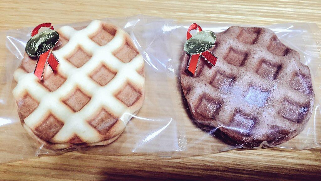 秋冬限定・無添加薄焼きクッキー「ワッフルリーフ」と「リーフショコラ」買ってみた