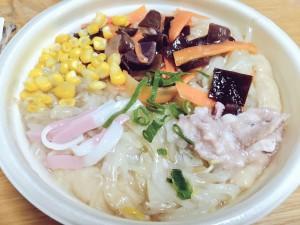 セブン ご当地の味!長崎仕立 野菜たっぷりちゃんぽん